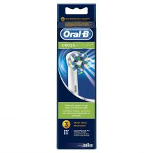 Oral-B lot de 3 brossettes cross action