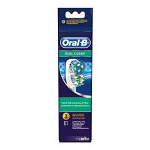 Oral-B lot de 3 brossettes Dual Clean