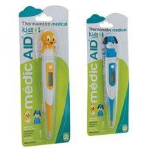 Thermomètre kids poussin et chien MédicAID