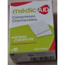 Compresses Chlorhexidine MédicAID