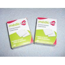 Compresses impregnées calendula - MédicAID