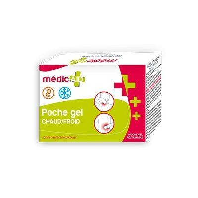 Gel pack chaud froid MédicAID