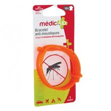 Bracelet anti-moustiques MédicAID