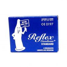 Reflex standard, Boîte de 6 préservatifs Polidis