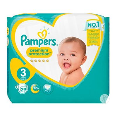 New Baby premium protection - Pampers
