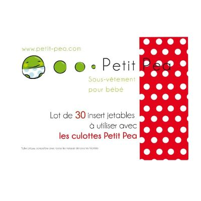 Insert jetable Petit Pea ×30