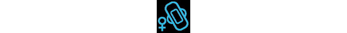 Protection incontinence légère pour femme